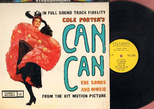 Can Can - Cole Porter's Can Can - The Songs And Music From The Hit Motion Picture (Vinyl STEREO LP record) - EX8/EX8 - LP Records