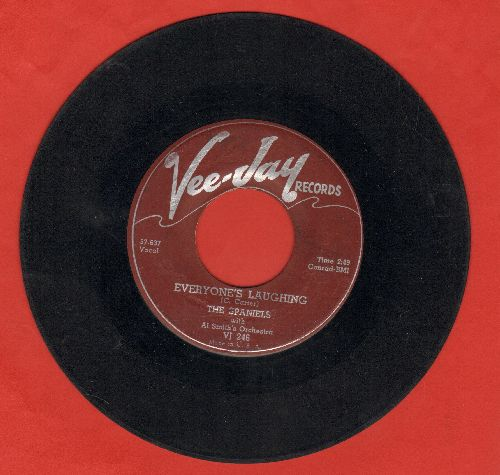 Spaniels - Everybody's Laughing/I.O.U.  - VG6/ - 45 rpm Records