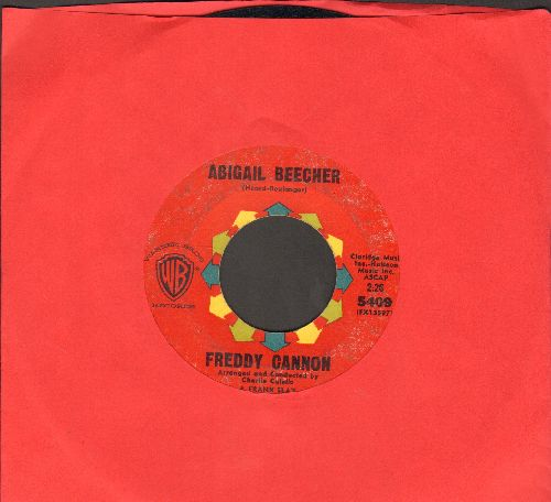 Cannon, Freddy - Abigail Beecher/All American Girl - EX8/ - 45 rpm Records