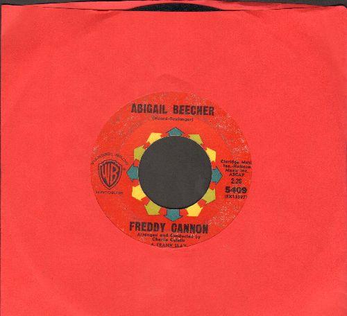 Cannon, Freddy - Abigail Beecher/All American Girl - EX8/ - 45 rpm Records