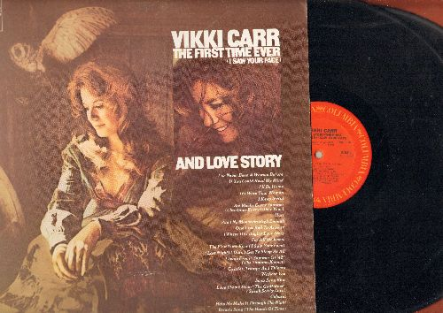 Carr, Vikki - The First Time Ever (I Saw Your Face) and Love Sory - 2 vinyl STEREO LP records, gate-fold cover. - NM9/EX8 - LP Records