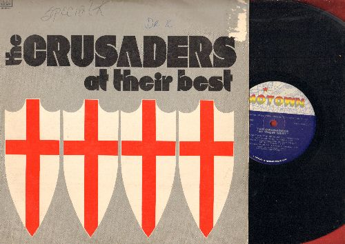 Crusaders - At Their Best: Jazz!, Papa Hooper's Barrelhouse Groove, Rainy Night In Georgia, Spanish Harlem (Vinyl LP record) - EX8/VG7 - LP Records