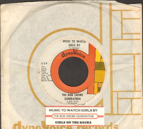 Crewe, Bob Generation - Music To Watch Girls By/Girls On The Rocks (with RARE company leeve and juke box label)  - EX8/ - 45 rpm Records
