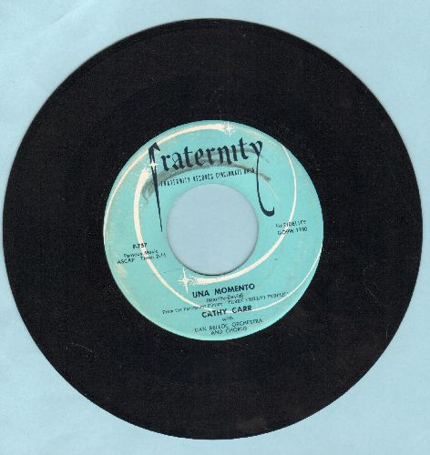Carr, Cathy - Una Momento/It Looks Like Love - EX8/ - 45 rpm Records