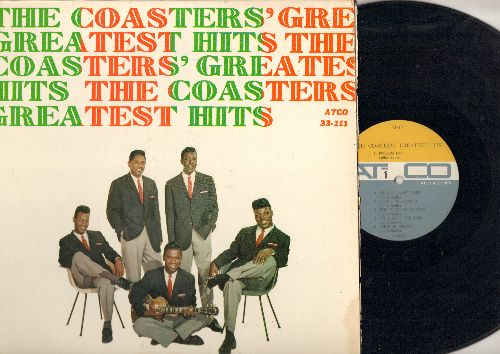 Coasters - The Coasters' Greatest Hits: Poison Ivy, Along Came Jones, Charlie Brown, Yakety Yak, Sweet Heorgia Brown, Searchin' (vinyl MONO LP record) - VG7/VG7 - LP Records