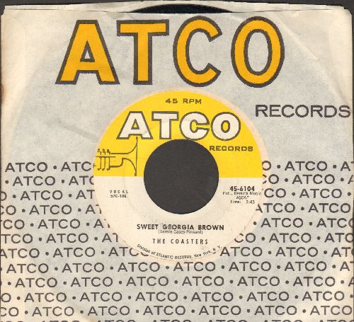 Coasters - Sweet Georgia Brown/What Is The Secret Of Your Success? (with vintage Atco company sleeve) - NM9/ - 45 rpm Records