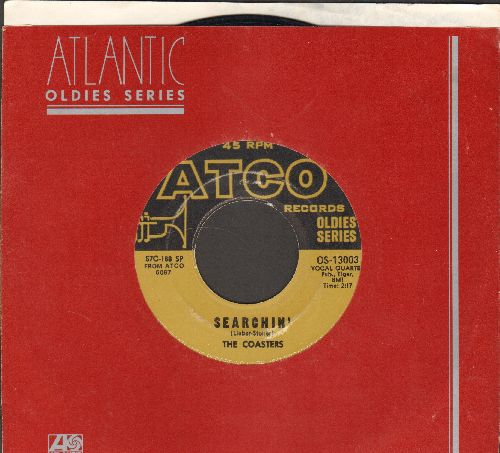 Coasters - Searchin'/Young Blood (re-issue with Atlantic company sleeve) - EX8/ - 45 rpm Records