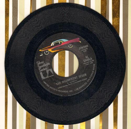 Caiola, Al & His Orchestra - The Magnificent/Bonanza (re-issue) - NM9/ - 45 rpm Records