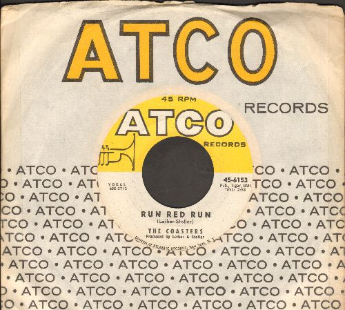 Coasters - Run Red Run/What About Us (with vintage Atco company sleeve) - NM9/ - 45 rpm Records