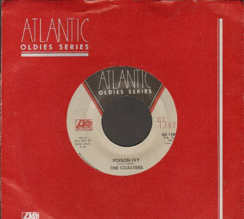 Coasters - Poison Ivy/Idol With The Golden Head (double-hit re-issue with Atlantic company sleeve) - NM9/ - 45 rpm Records