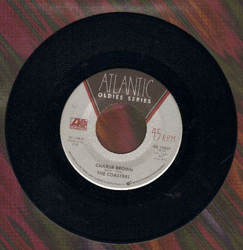 Coasters - Charlie Brown/I'm A Hog For You (double-hit re-issue) - NM9/ - 45 rpm Records