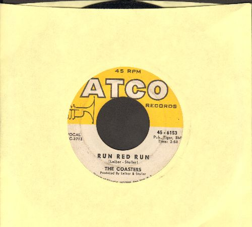 Coasters - Run Red Run/What About Us  - EX8/ - 45 rpm Records