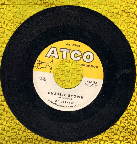 Coasters - Charlie Brown/Three Cool Cats  - VG7/ - 45 rpm Records