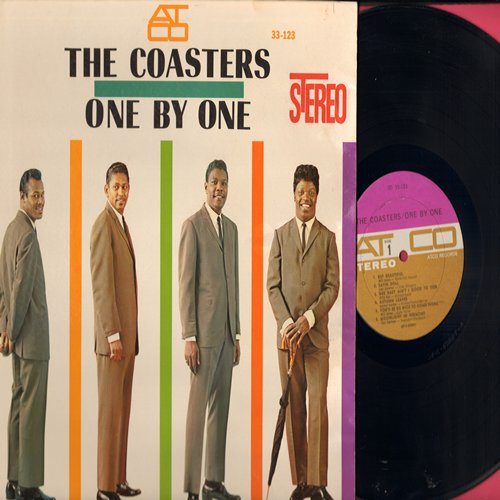 Coasters - One By One: Satin Doll, Moonlight In Vermont, The Way You Look Tonight, On The Sunny Side Of The Street (vinyl STEREO LP record) - NM9/VG7 - LP Records