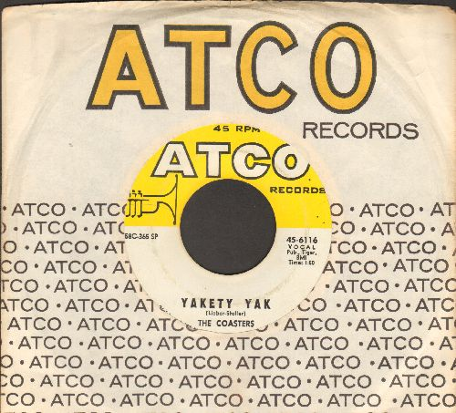 Coasters - Yakety Yak/Zing' Went The Strings Of My Heart (with Atco company sleeve) - VG7/ - 45 rpm Records