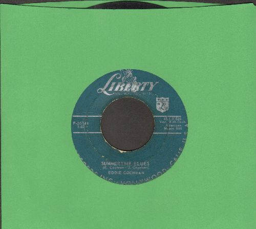 Cochran, Eddie - Summertime Blues/Love Again - VG6/ - 45 rpm Records