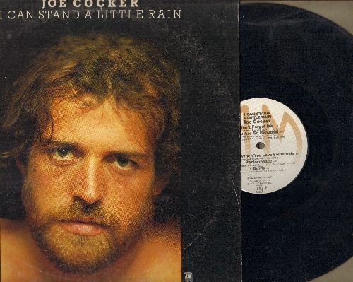 Cocker, Joe - I Can Stand A Little Rain: You Are So Beautiful, Put Out The Light, Guilty (vinyl STEREO LP record) - EX8/VG7 - LP Records