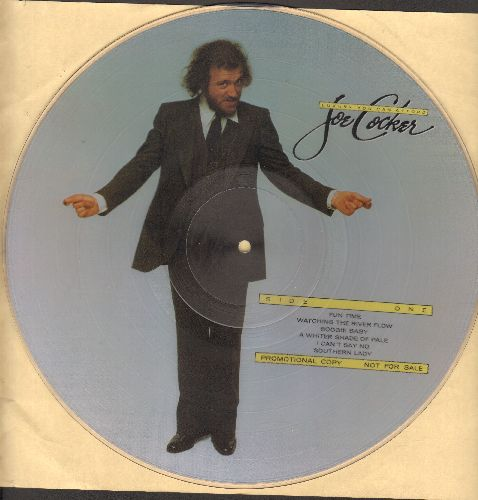 Cocker, Joe - Luxury You Can Afford: A Whiter Shade Of Pale, I Heard It Through The Grapevine, Lady Put The Light Out (RARE Picture Disc) - NM9/ - Picture Disc