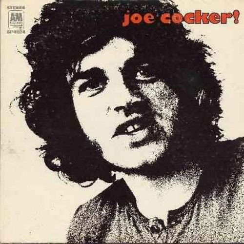 Cocker, Joe - Joe Cocker!: Lawdy Miss Clawdy, Something, Delta Lady, Dear Landlord, That's Your Business, Hitchcock Railway, Bird On The Wire (Vinyl LP record) - EX8/VG7 - LP Records