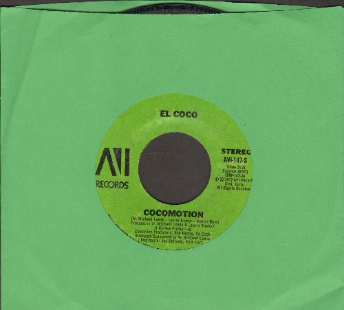 El Coco - Cocomotion/Love To The World - EX8/ - 45 rpm Records