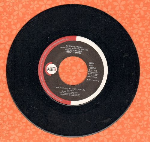 Graham, Tammy - A Dozen Roses/Tell Me Again - NM9/ - 45 rpm Records