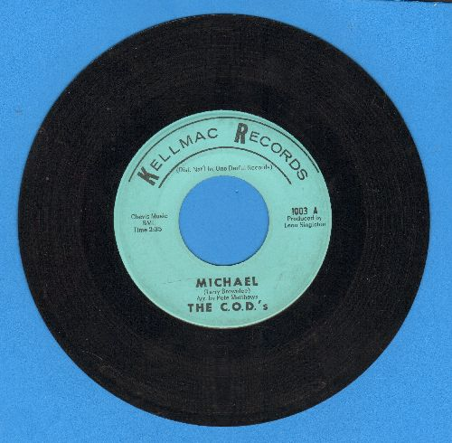C.O.D.'s - Michael/Cry No More - VG7/ - 45 rpm Records