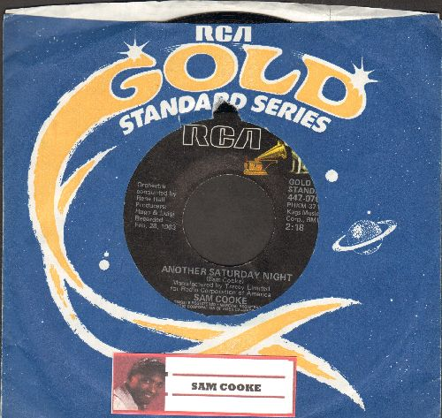 Cooke, Sam - Another Saturday Night/Send Me Some Lovin' (double-hit reissue with vintage RCA company sleeve) - NM9/ - 45 rpm Records