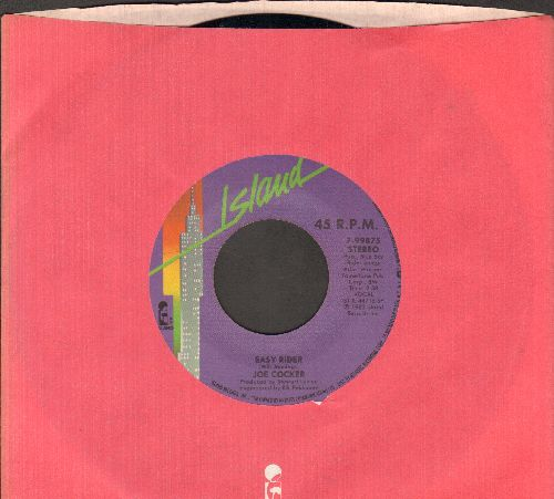 Cocker, Joe - Easy Rider/Threw It Away (with Island company sleeve) - NM9/ - 45 rpm Records