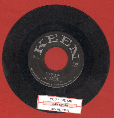 Cooke, Sam - You Send Me/Summertime (first pressing with juke box label) - VG7/ - 45 rpm Records