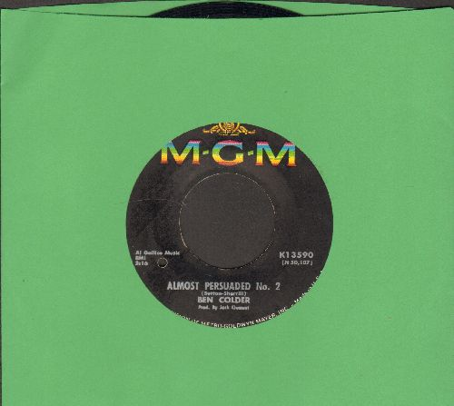 Colder, Ben - Almost Persuaded #2/Packets Of Pencils (bb) - EX8/ - 45 rpm Records