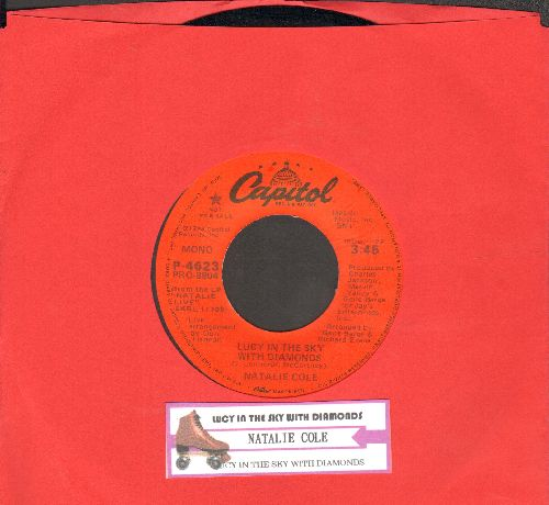 Cole, Natalie - Lucy In The Sky With Diamonds (double-A-sided DJ advance pressing with juke box label) - EX8/ - 45 rpm Records