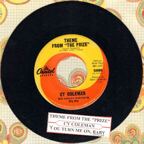 Coleman, Cy - Theme From -The Aprize-/You Turn Me On (with juke box label) - NM9/ - 45 rpm Records