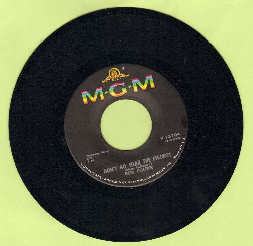 Colder, Ben - Don't Go Near The Eskimos/Hello Wall No. 2 (early re-issue) - NM9/ - 45 rpm Records