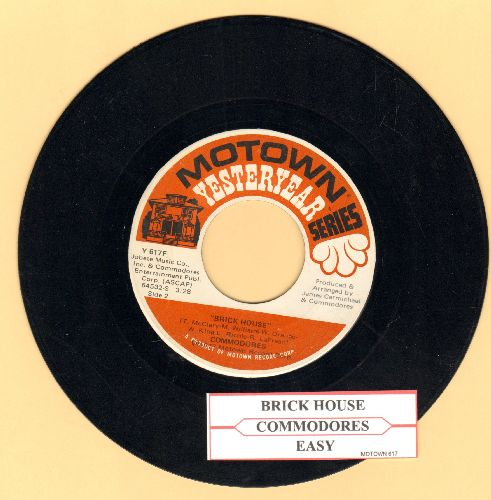 Commodores - Brick House/Easy (double-hit re-issue with juke box label) - EX8/ - 45 rpm Records