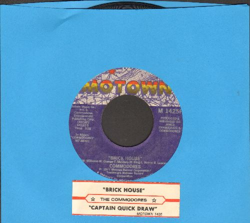 Commodores - Brick House/Captain Quick Draw (with juke box label) - VG7/ - 45 rpm Records