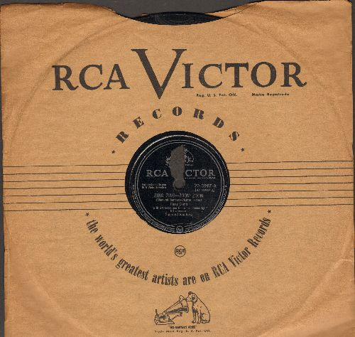 Como, Perry - Zing Zing - Zoom Zoom/If (10 inch 78 rpm record with RCA company sleeve) - EX8/ - 78 rpm