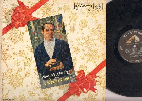 Como, Perry - Season's Greetings: Home For The Holidays, Winter Wonderland, The Christmas Song, Santa Claus Is Comin' To Town (vinyl MONO LP record) - NM9/VG7 - LP Records