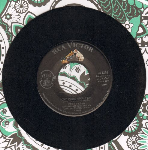Como, Perry - One More Mountain/(I Love You) Don't You Forget It - NM9/ - 45 rpm Records
