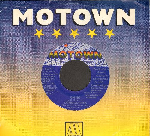 Commodores - Oh No/Lovin' You (with Motown company sleeve) - EX8/ - 45 rpm Records