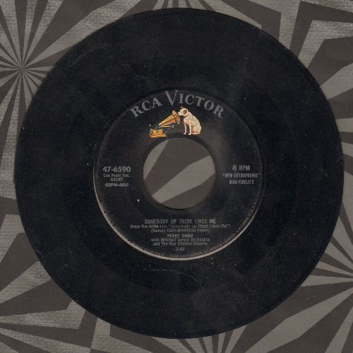 Como, Perry - Somebody Up There Likes Me/Dream Along With Me - VG7/ - 45 rpm Records