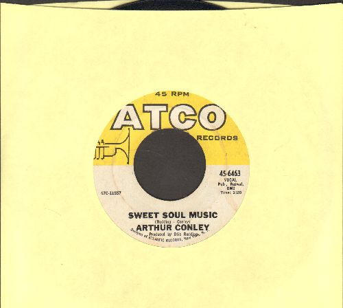 Conley, Arthur - Sweet Soul Music/Let's Go Steady (bb) - EX8/ - 45 rpm Records