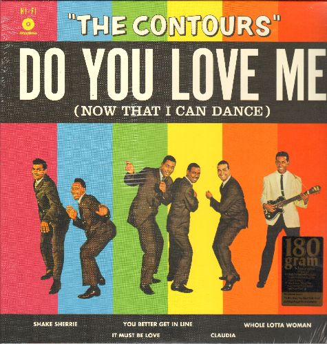 Contours - Do You Love Me (Now That I Can Dance): Shake Sherrie, The Stretch,  Claudia, Funny, It Must Be Love(180 gram Vintage Vinyl LP record re-issue, SEALED, never opened!) - SEALED/SEALED - LP Records