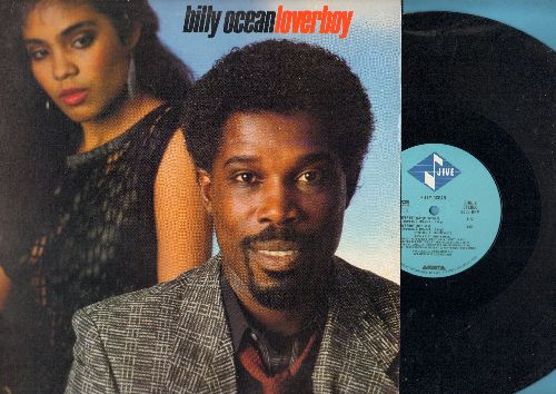 Ocean, Billy - Loverboy (8:08 minutes Extended Dance Club Mix/4:12 Single Version/4:59 Dub Version) (12 inch vinyl Maxi Single with picture cover) - EX8/NM9 - Maxi Singles