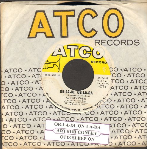Conley, Arthur - Ob-La-Di, Ob-La-Da/Otis Sleep On (with Atco company sleeve and juke box label) - NM9/ - 45 rpm Records