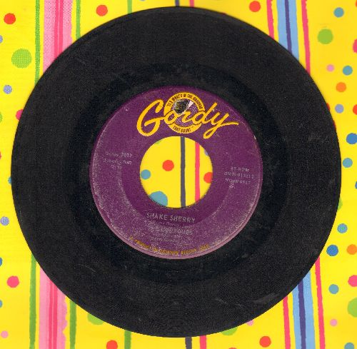 Contours - Shake Sherry/You Better Get In Line (with Motown company sleeve) (bb) - EX8/ - 45 rpm Records