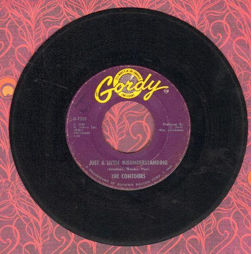 Contours - Just A Little Misunderstanding/Determination  - VG7/ - 45 rpm Records