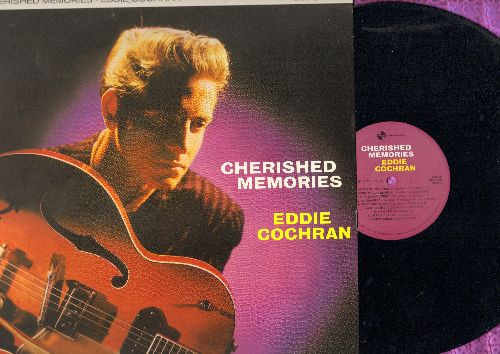 Cochran, Eddie - Cherished Memories: That's My Desire, Half Loved, Am I Blue, Let's Get Together, Sweetie Pie (vinyl Direct Metal re-issue of vintage Rock-A-Billy recordings, EU Pressing) - NM9/NM9 - LP Records