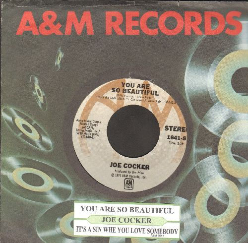 Crosby, Bing - Silent Night/Adeste Fideles (silver star/lines label with juke box label vintage Decca company sleeve) - NM9/ - 45 rpm Records