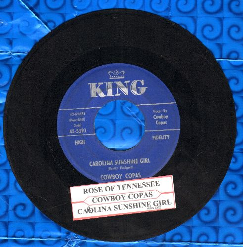 Cowboy Copas - California Sunshine Girl/Rose Of Tennessee - EX8/ - 45 rpm Records