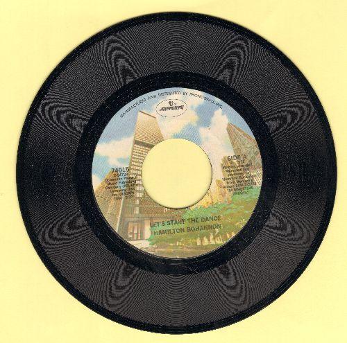 Bohannon, Hamilton - Let's Start The Dance/I Wonder Why - EX8/ - 45 rpm Records